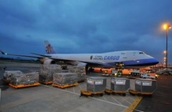 Radius of logistics - air transport
